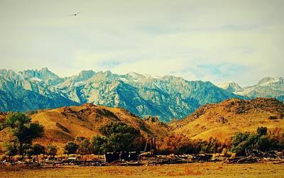 Digital Art - California High Sierras 3 by Max DeBeeson