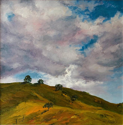 California Hills Original by Rick Nederlof
