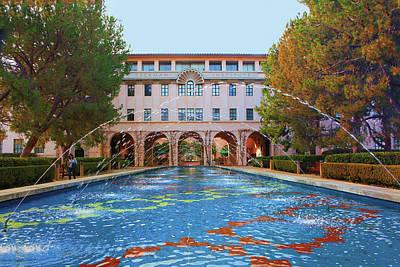 Photograph - California Institute Of Technology - Caltech - Beckman Institute by Ram Vasudev