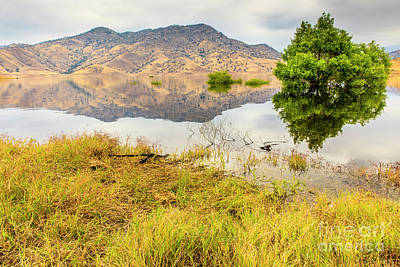 Photograph - California Kaweah Lake Scene by Ben Graham