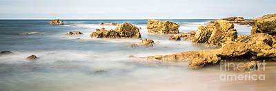 Laguna Beach Wall Art - Photograph - California Laguna Beach Rocks Panorama Photo  by Paul Velgos
