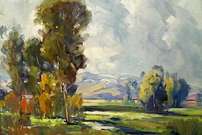 California Landscape 1 Art Print