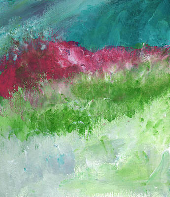 Sky Painting - California Landscape- Expressionist Art By Linda Woods by Linda Woods