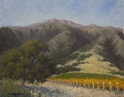 Painting - California Landscape by Marv Anderson