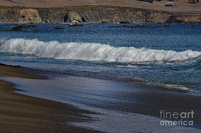 Photograph - California Low Tide Surf by Debby Pueschel
