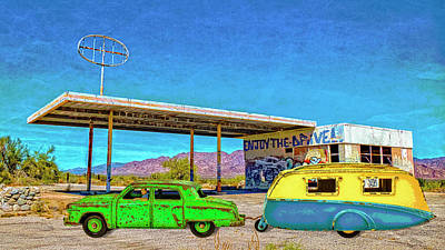 Digital Art - California Or Bust by Sandra Selle Rodriguez