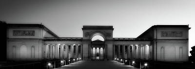 California Palace Of The Legion Of Honor At Sunset Art Print