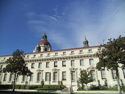California Pasadena City Hall Art Print