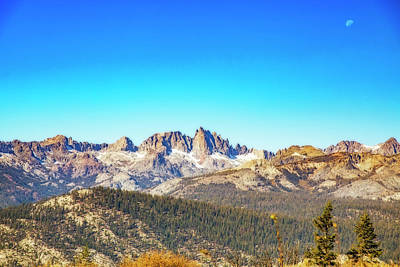Photograph - California Peaks by Nancy Marie Ricketts