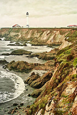 Photograph - California - Point Arena Coastline by Gabriele Pomykaj