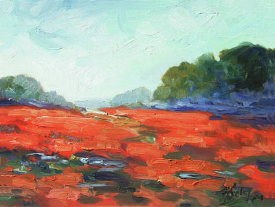 Painting - California Poppies by Irek Szelag