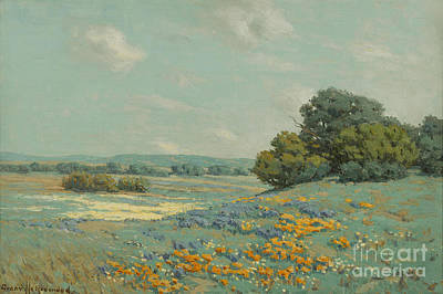 Redmond Painting - California Poppy Field by MotionAge Designs