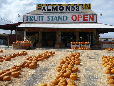 Photograph - California Produce Stand by Carol Groenen