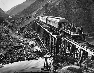 Photograph - California: Railroad, 1869 by Granger