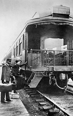 Photograph - California: Railroad by Granger