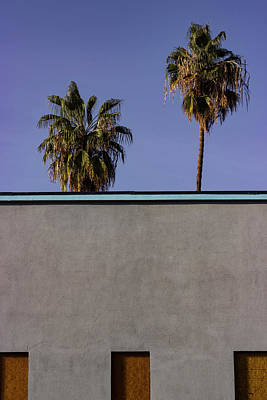 Photograph - California Rooftop by Deborah Hughes