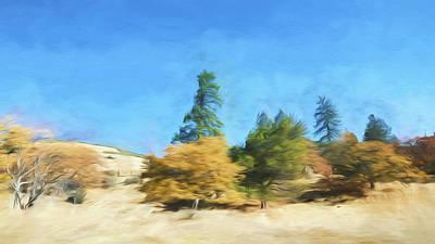 Painting - California Rural by Bonnie Bruno