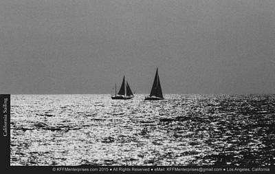Photograph - California Sailing by Kevin Montague