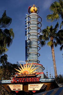 Photograph - California Screamin by David Nicholls