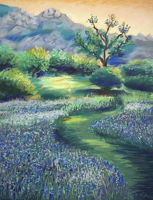 California Spring Art Print by Karin  Leonard