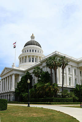 Photograph - California State Capitol by Christiane Schulze Art And Photography