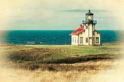 Photograph - California - State Historic Park Point Cabrillo by Gabriele Pomykaj