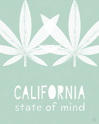 Mixed Media - California State Of Mind- Art By Linda Woods by Linda Woods