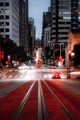 Photograph - California Street by Joseph Miguel
