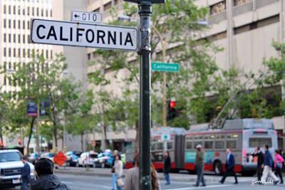 California Street  Original by Sontia Hall