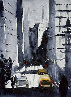 Painting - California Street by Tom Simmons