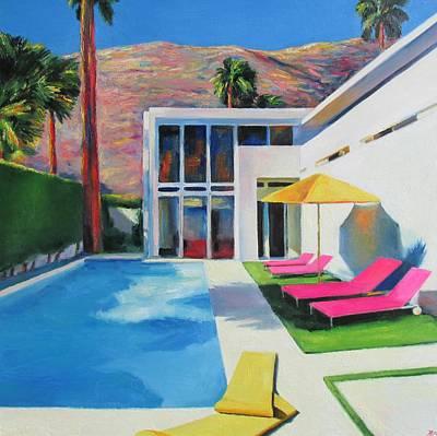 California Sun Original by Ieva Baklane