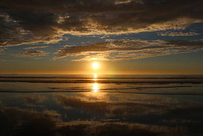 Travel - California Sunset - 4  by Christy Pooschke