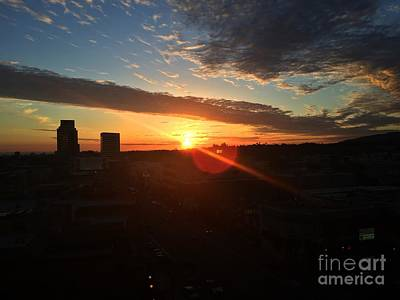 Photograph - California Sunset by Jenny Revitz Soper