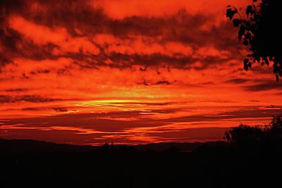 Photograph - California Sunset by Jerry Kalman