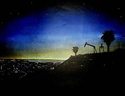 Malibu Mixed Media - California Sunset by Marcus Quinn