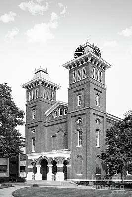 Photograph - California University Of Pennsylvania Old Main by University Icons