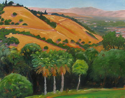 Painting - California View by Gary Coleman