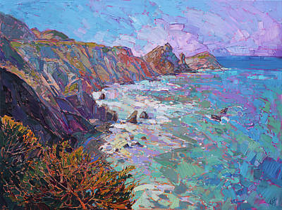 Painting - California Vista by Erin Hanson