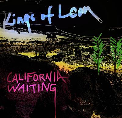 Def Leppard Mixed Media - California Waiting 2003  by Enki Art