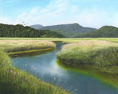 Painting - California Wetlands 2 by Kathie Miller
