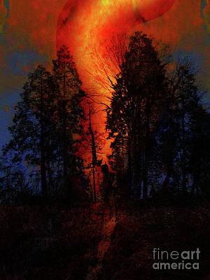 Photograph - California Wildfire by Robert Ball