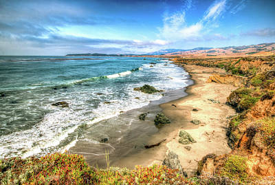 Photograph - California's Central Coastline by R Scott Duncan