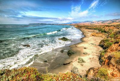 Photograph - California's Central Coastline by R Scott Duncan