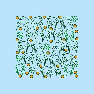 California's Palms Art Print