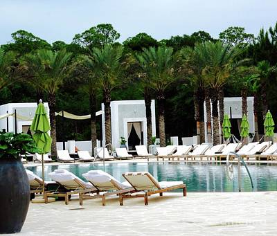 Vacation Photograph - Caliza Pool In Alys Beach by Megan Cohen