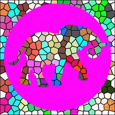 Elefant Digital Art - Call For Freedom by Rob Sneyder