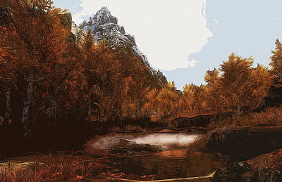 Digital Art - Call Of Nature by Andrea Mazzocchetti