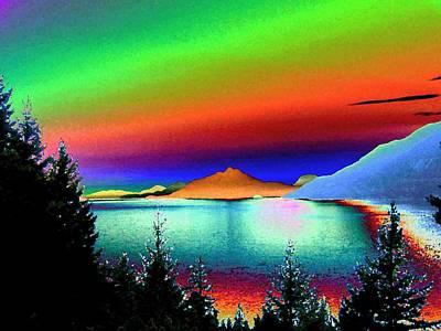 Coastline Digital Art - Call Of The Coast 2 by Will Borden