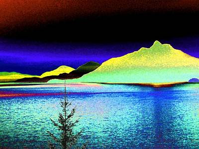 Abstract Seascape Digital Art - Call Of The Coast by Will Borden