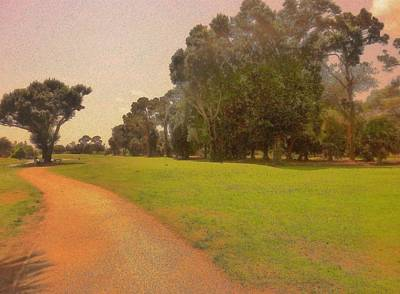 Mixed Media - Call Of The Golf Course by Florene Welebny